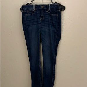 Hollister skinny jeans dark blue
